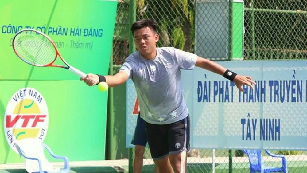 Tennis: Hoang Nam earns 'double' wins at Vietnam F5 Futures