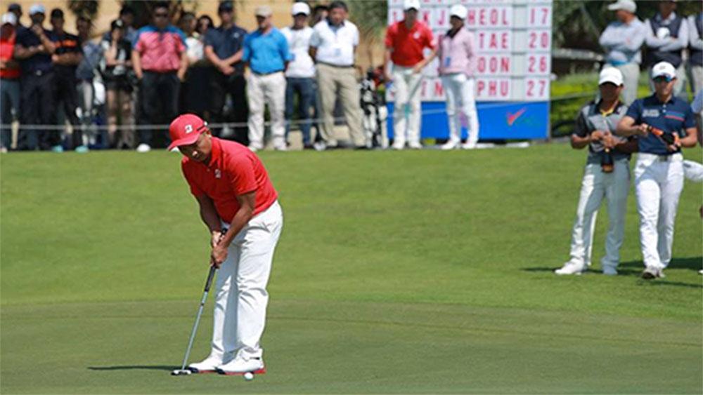 Lê Hữu Giang, vô địch, giải golf chuyên nghiệp Việt Nam 2018