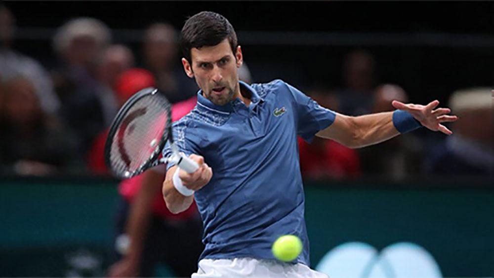 Djokovic, Federer, bán kết Paris Masters, Marin Cilic, Kei Nishikori