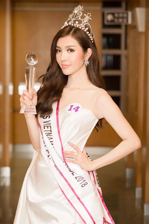 Ứng xử, bằng tiếng Anh, lưu loát, Thiên Hương, đăng quang, Miss Vietnam Worldwide 2018