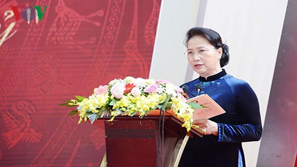 Chủ tịch Quốc hội, Lễ kỷ niệm 110 năm Trường Bưởi - Chu Văn An