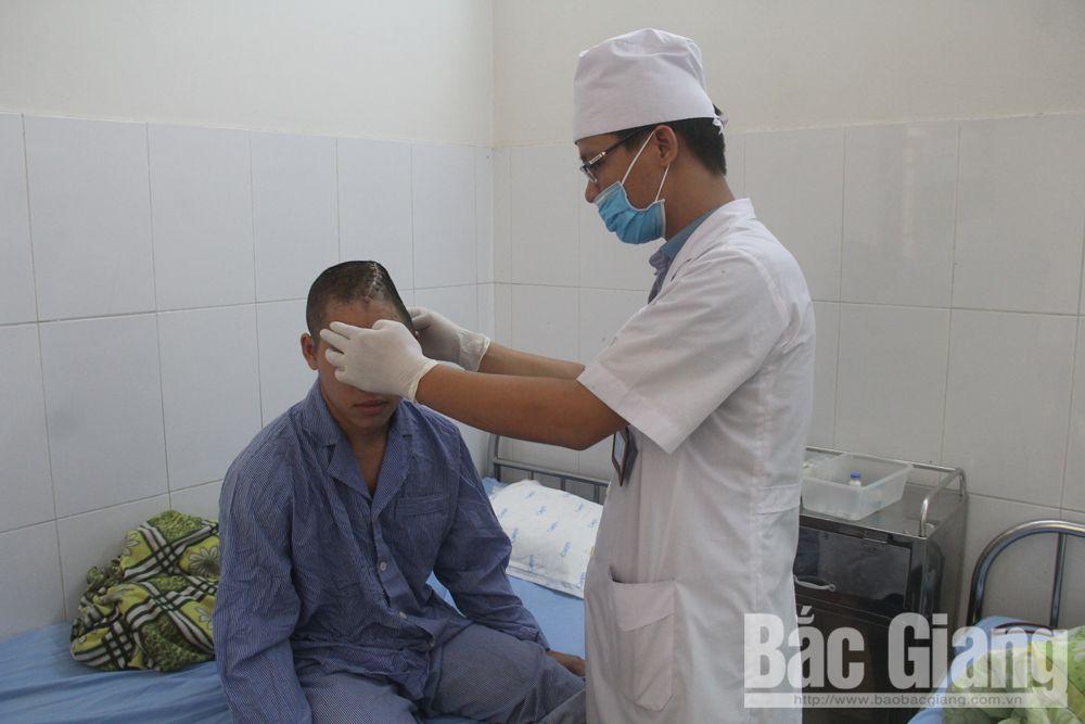 tạo hình hộp sọ, chấn thương, bệnh viện đa khoa tỉnh