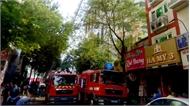 Hỏa hoạn tại khách sạn ở trung tâm TP Hồ Chí Minh