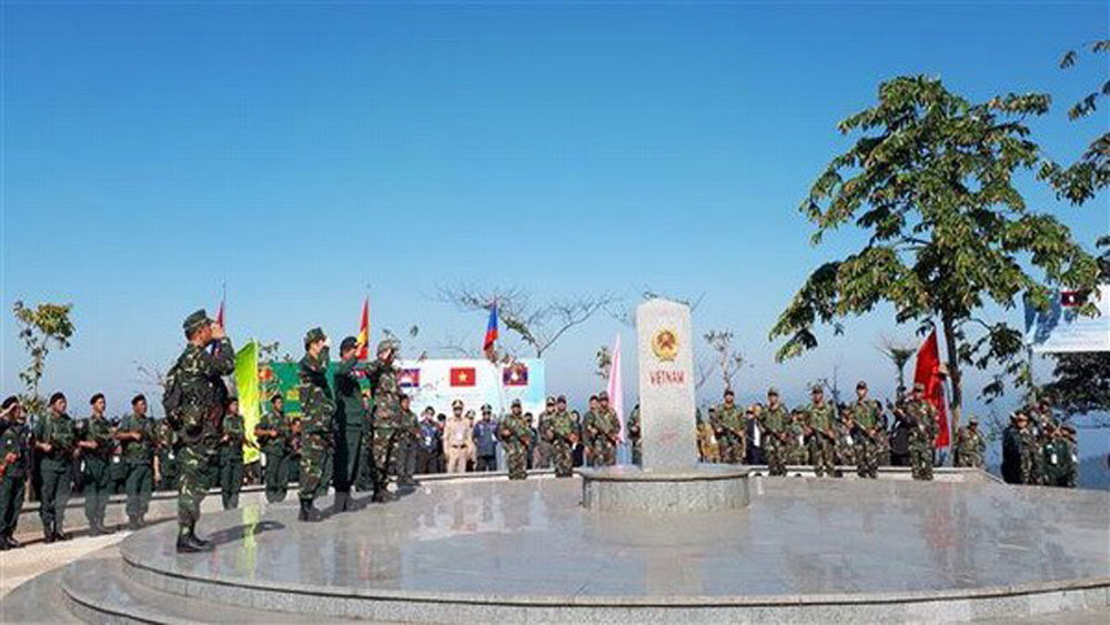 Vietnam-Laos-Cambodia border friendship exchange held