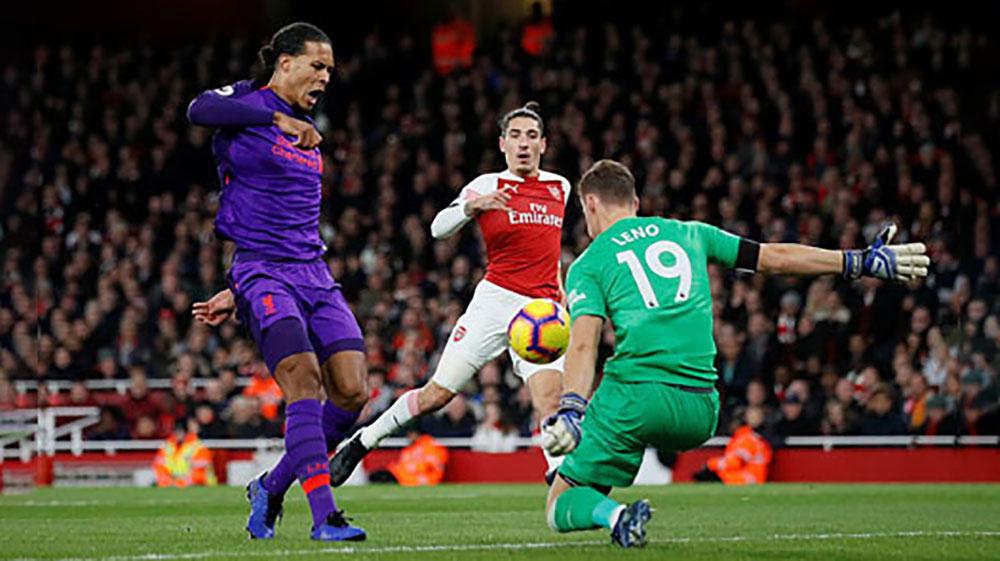 Arsenal buộc Liverpool chia điểm, bất bại trận 13 liên tiếp