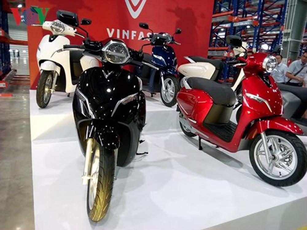 xe máy điện, VinFast, Xe máy điện thông minh, Klara. Tập đoàn Vingroup