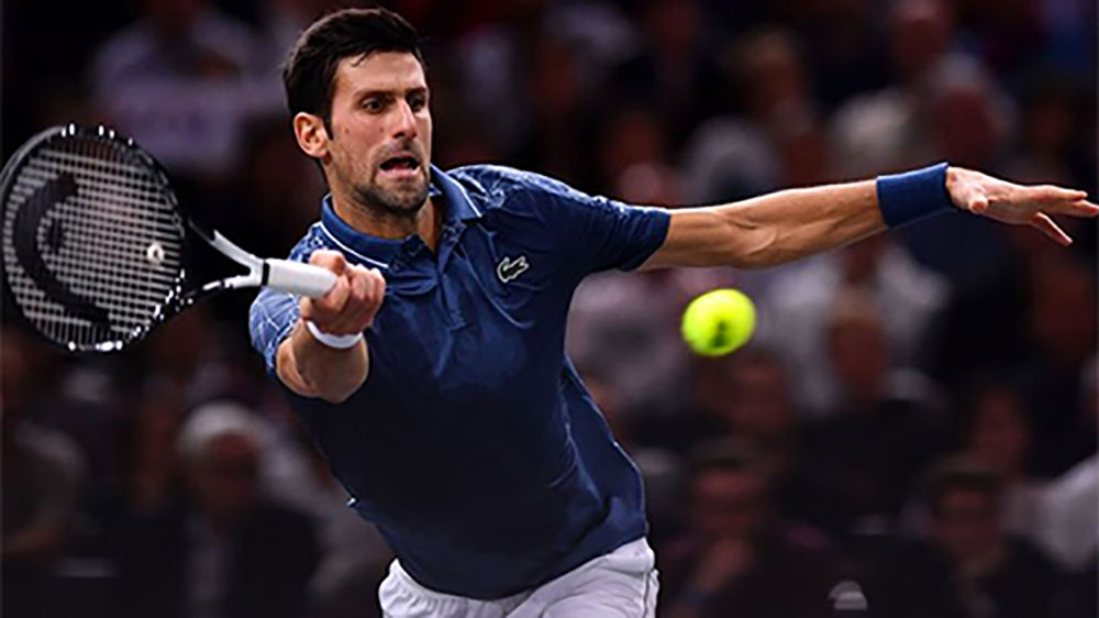 Djokovic hạ Federer, vào chung kết Paris Masters