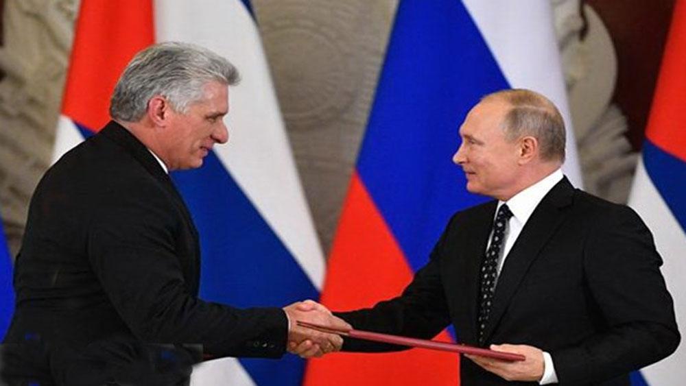 Cuba, Nga, lên án, biện pháp, trừng phạt, đơn phương, Mỹ