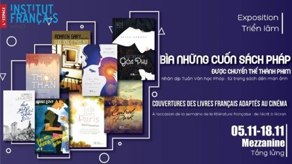 French Literature Week, Hanoi, From Pages to Screens, Institut Français de Hanoi,  exchange programme,  famous literary works