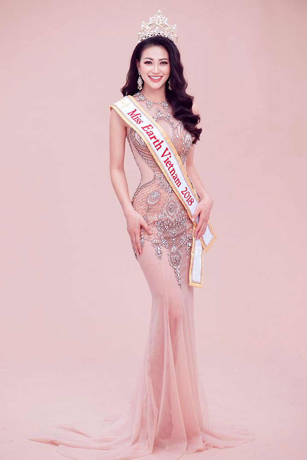 Vietnamese beauty, Miss Earth 2018, Nguyen Phuong Khanh,   the Philippines, gold medal, Asia & Oceania region
