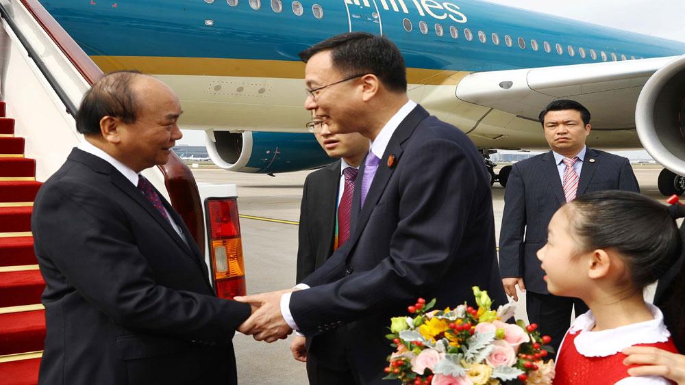 Thủ tướng, Nguyễn Xuân Phúc, Thượng Hải, bắt đầu, chương trình, tham dự, CIIE 2018