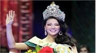 Phương Khánh diện váy 'Nữ thần mặt trời' khi đăng quang Hoa hậu Trái Đất