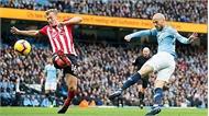 Man City độc chiếm đỉnh bảng bằng chiến thắng 6-1