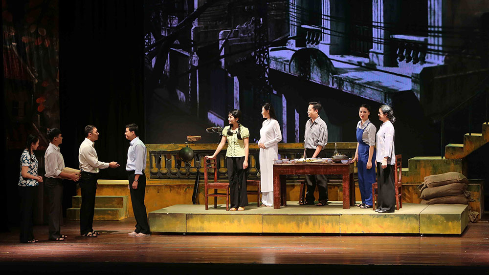 500 nghệ sỹ, diễn viên, Liên hoan sân khấu Thủ đô