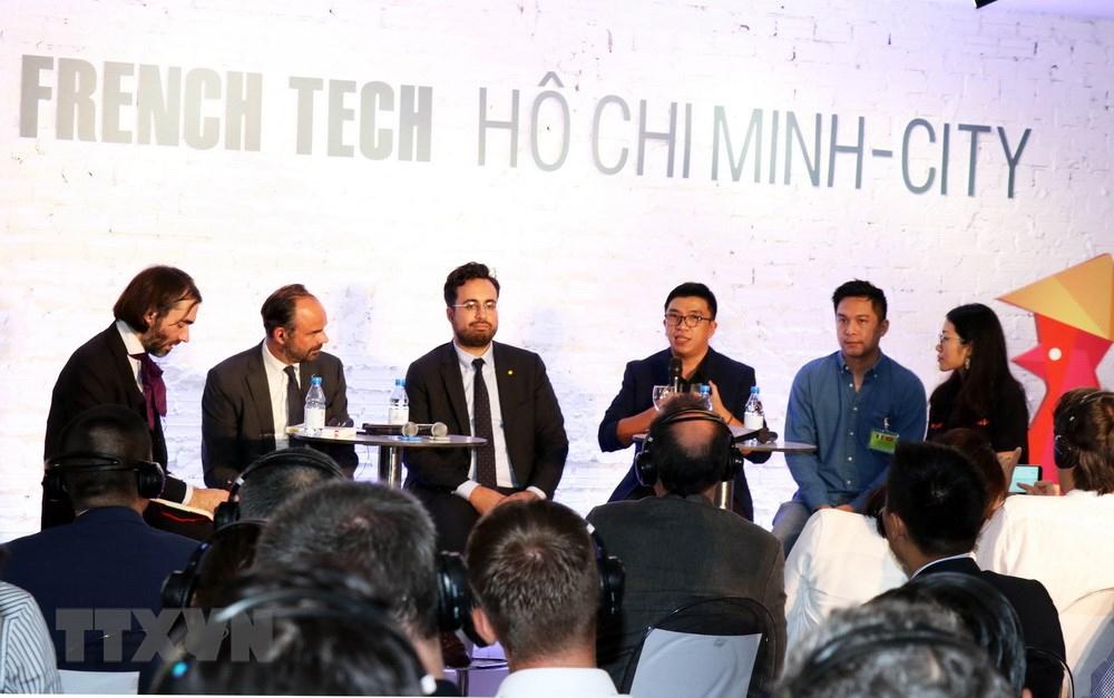 Thiết bị điện tử SIHUB, Thủ tướng Pháp, Edouard Phillipe, French Tech Việt, Công nghệ mới, Khởi nghiệp, Việt Nam-Pháp, Diễn đàn French Tech Hồ Chí Minh-City, Start-up Việt Nam