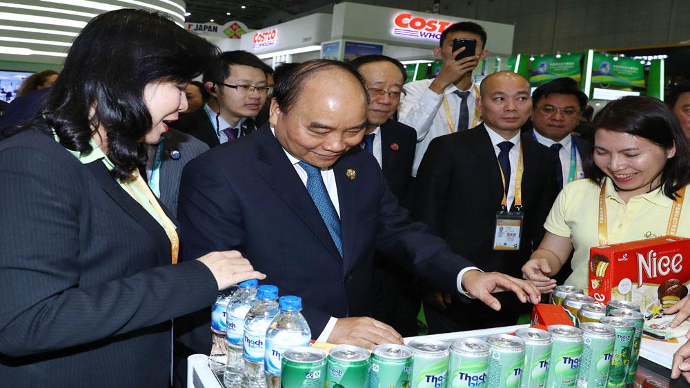 Thủ tướng Nguyễn Xuân Phúc, tham dự, Lễ khai mạc, Hội chợ, nhập khẩu, quốc tế, Trung Quốc