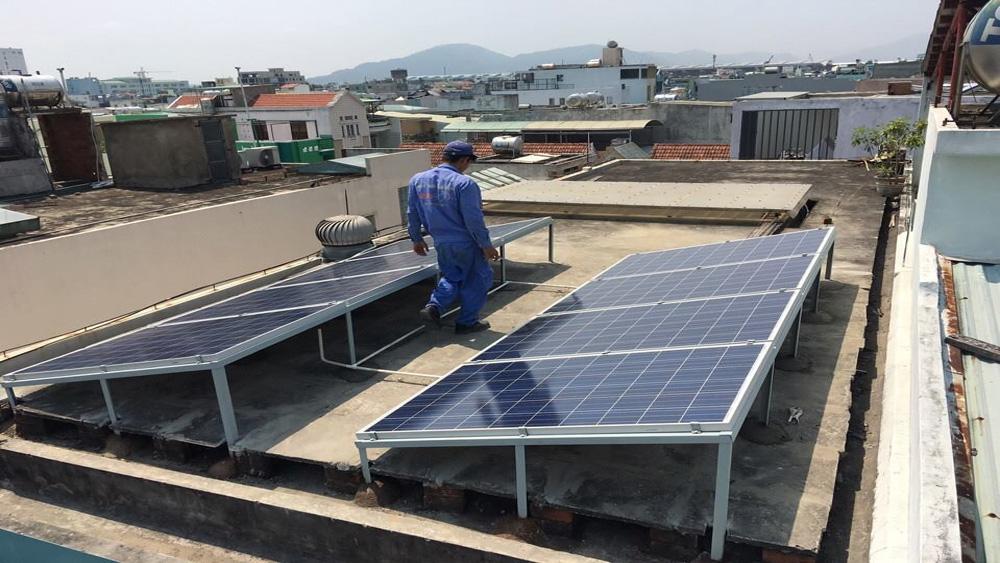 hệ thống, điện mặt trời, năng lượng, nguồn năng lượng sạch
