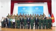 Việt Nam tham gia gìn giữ hòa bình LHQ: Khai mạc khóa huấn luyện vận hành thiết bị công binh hạng nặng