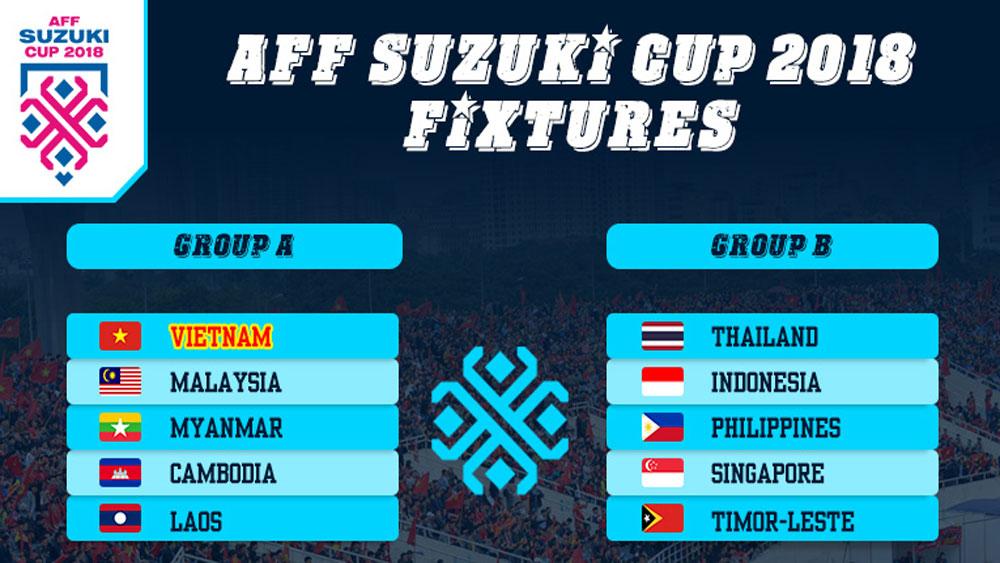 AFF Suzuki Cup 2018 match schedule
