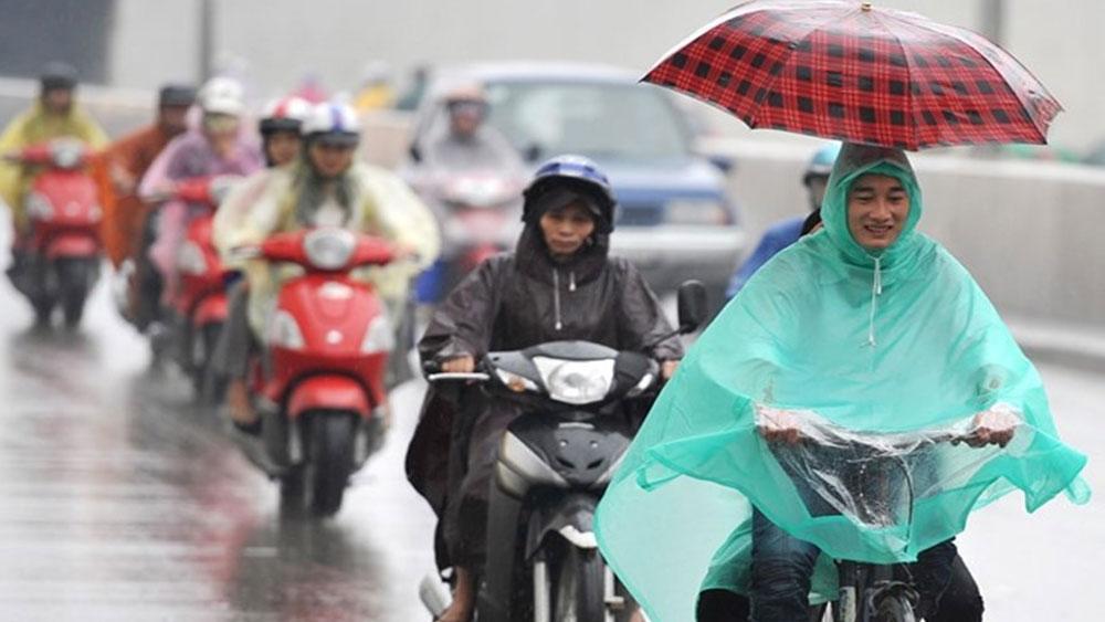 Không khí lạnh gây mưa lớn diện rộng