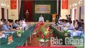 Thẩm định kết quả thực hiện các tiêu chí nông thôn mới tại hai xã Thắng Cương, Tân An