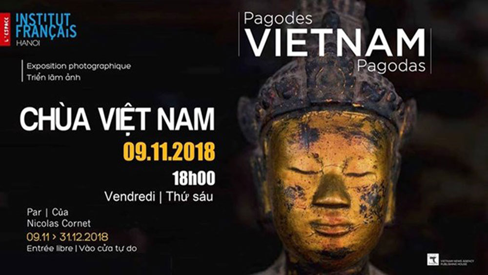 Vietnamese pagodas, French photographer, photo book, Nicolas Cornet,  Vietnamese culture,  culture lovers, technology and international expertise, Vietnamese cuisine