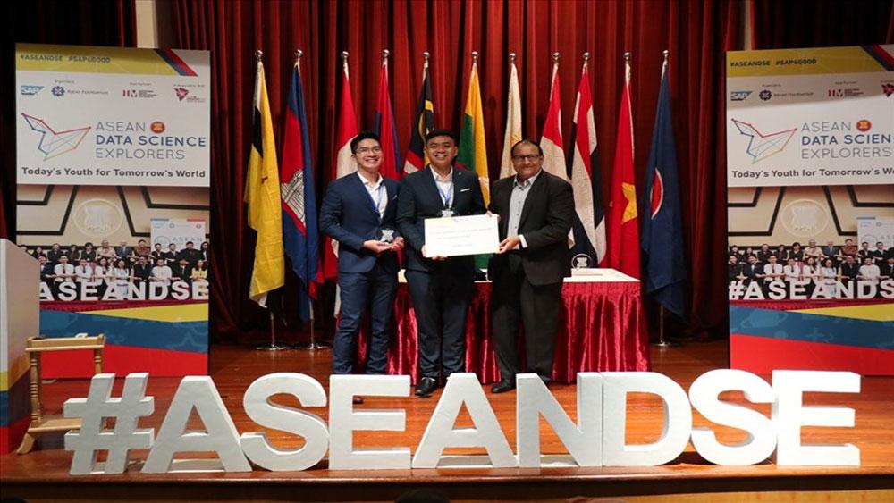 Sinh viên Việt Nam, giành giải Ba, cuộc thi Khám phá khoa học số ASEAN