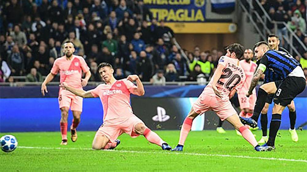Barca đoạt vé đi tiếp nhờ trận hòa Inter