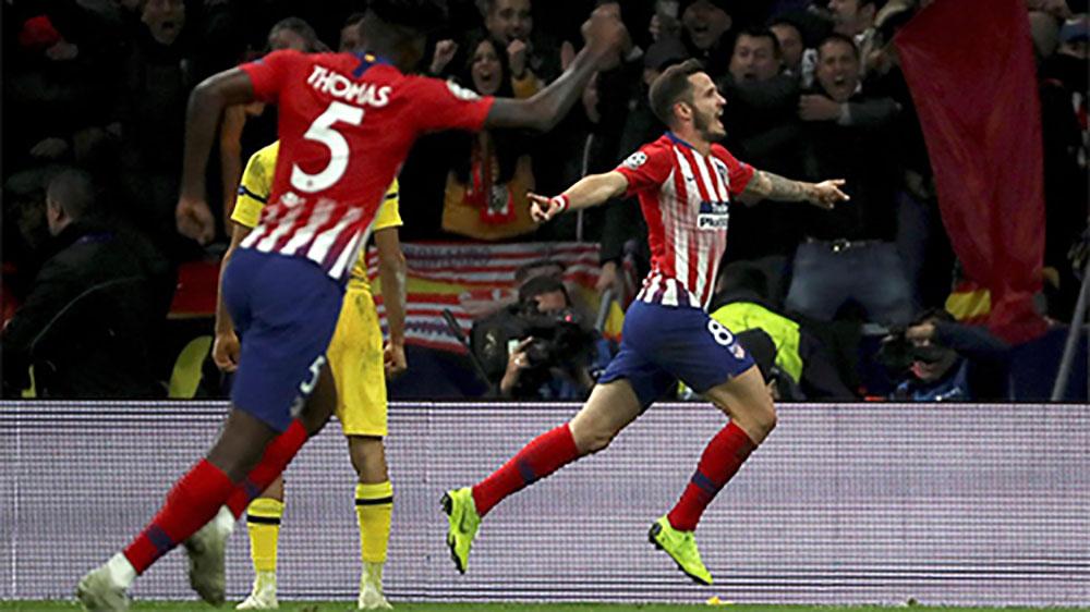 Atletico trả hận Dortmund ở vòng bảng Champions League