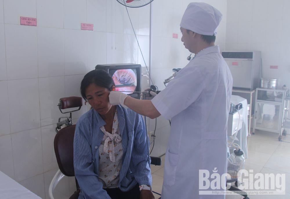 vá màng nhĩ thủng, bệnh viện đa khoa, tai mũi họng