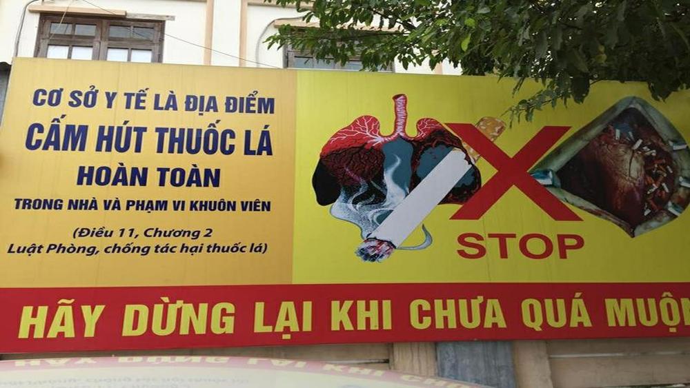Xử phạt vi phạm hành chính khi hút thuốc lá tại địa điểm cấm