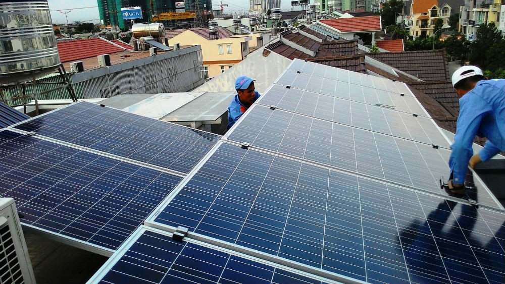 Tiềm năng,  phát triển,  điện mặt trời, Việt Nam