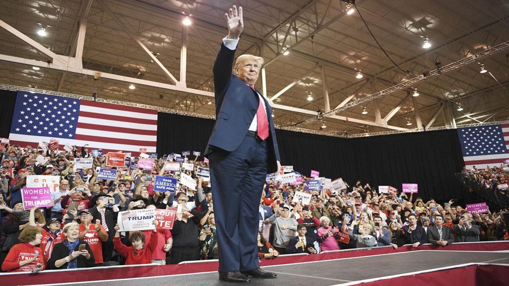 Bầu cử Quốc hội Mỹ giữa nhiệm kỳ: Tổng thống D.Trump ca ngợi cuộc bầu cử thành công rực rỡ