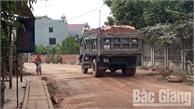 Tái diễn xe quá tải từ Tân Yên sang Hiệp Hòa