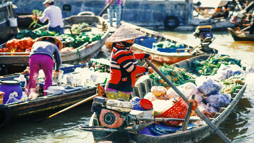Vietnam's floating markets among Southeast Asia's most photogenic places