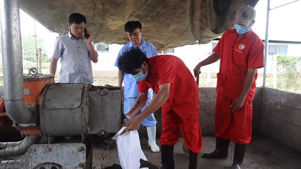 Máy ép tách phân, giải quyết môi trường, chăn nuôi