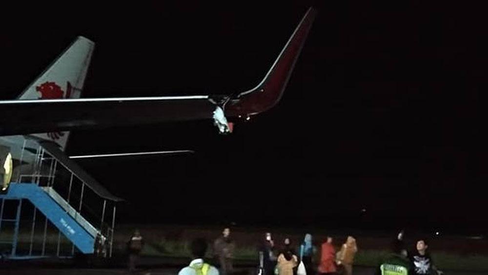 Máy bay Indonesia, xảy ra, sự cố đáng tiếc