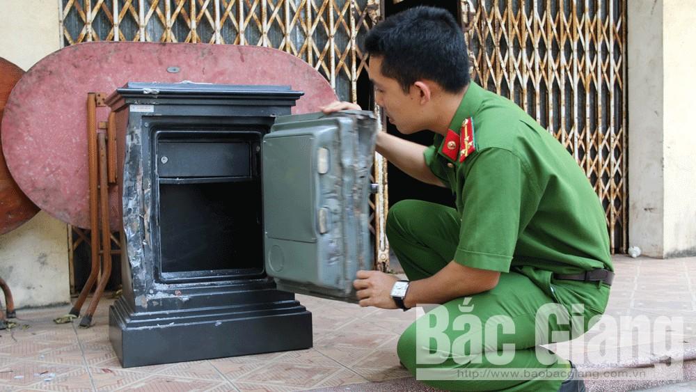 trộm cắp, TP Bắc Giang, xe máy, két sắt