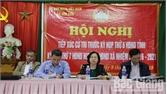 Phó Chủ tịch UBND tỉnh Nguyễn Thị Thu Hà tiếp xúc cử tri tại huyện Hiệp Hòa