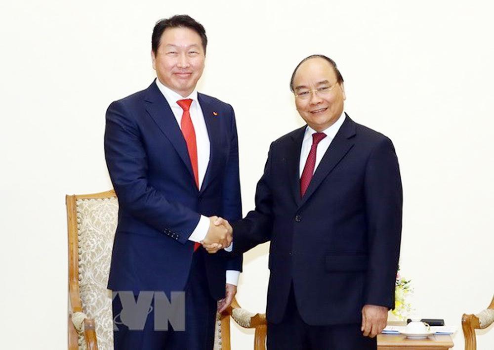 PM, Nguyen Xuan Phuc, Korean investors, expand operations, Vietnam, business operations, information technology, economic development orientations, fourth industrial revolution