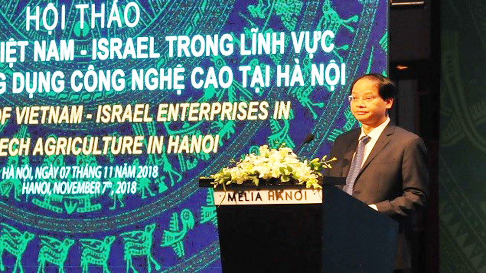 Hanoi wishes for Israel's cooperation in hi-tech farming