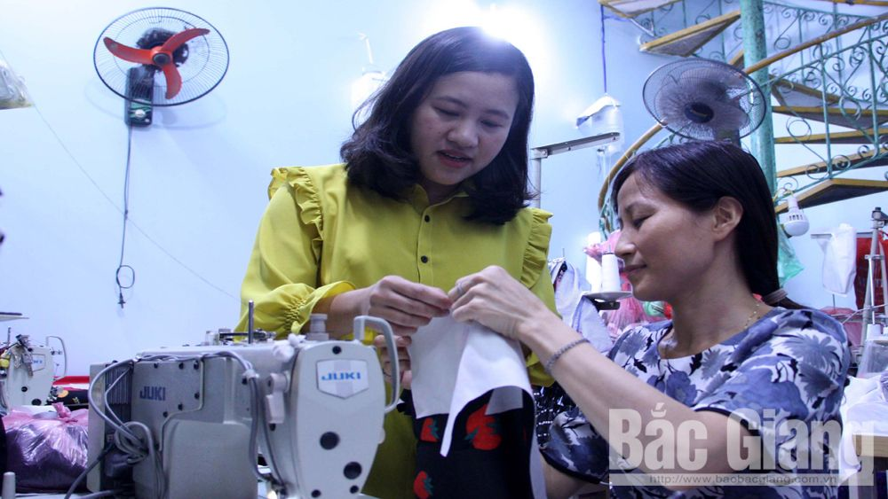 Bac Giang's youth confidently runs startups and creates bright future