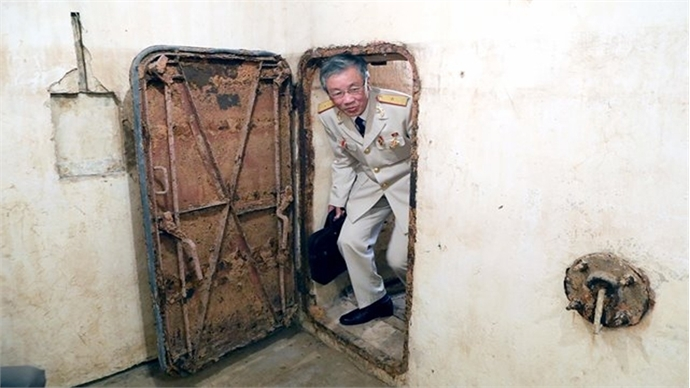 Two underground tunnels to open at Thang Long Imperial Citadel