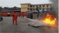 Công ty Điện lực Bắc Giang huấn luyện phòng cháy, chữa cháy và cứu nạn, cứu hộ
