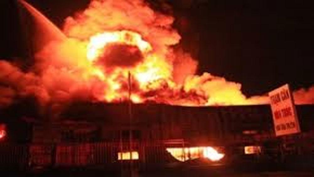Hàn Quốc, nổ tại nhà máy, công nhân, Việt Nam, làm việc