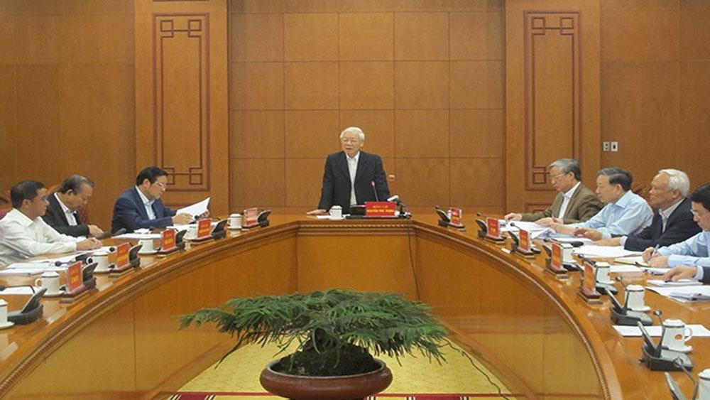 Tổng Bí thư, Chủ tịch nước chủ trì cuộc họp phòng, chống tham nhũng