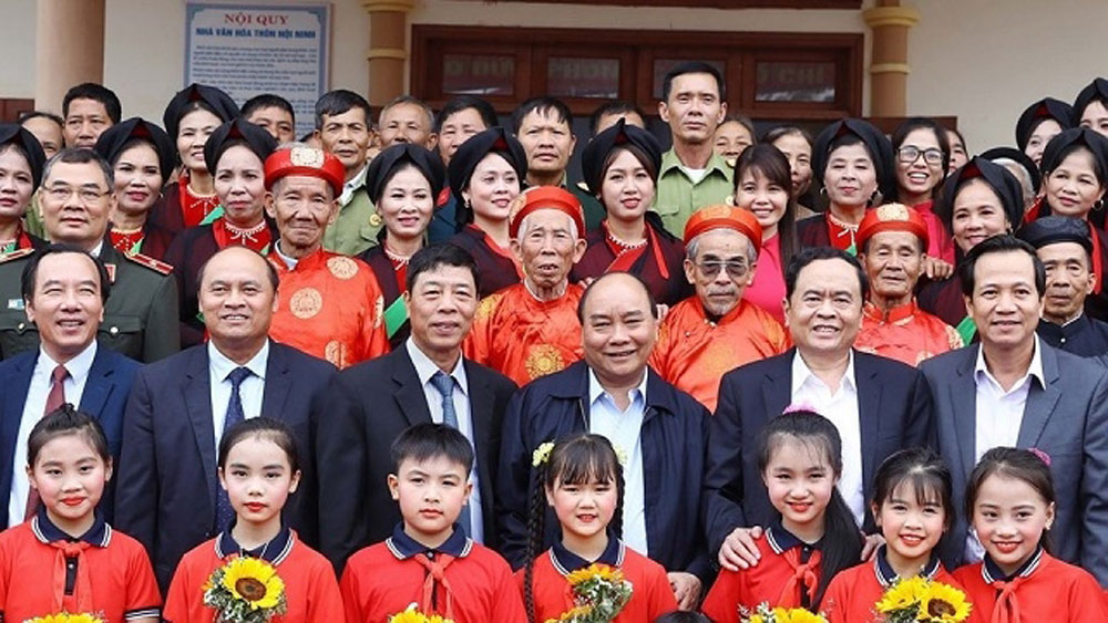 Prime Minister attends great national unity festival in Bac Giang