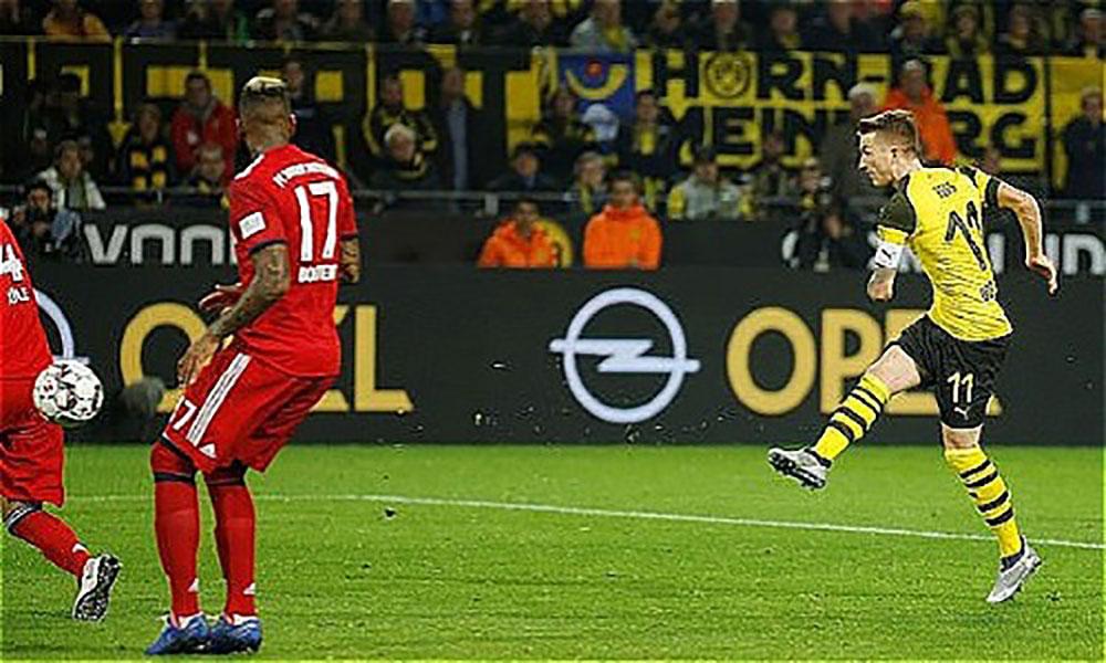 Dortmund, thắng ngược, Bayern, màn rượt đuổi ngoạn mục, Bundesliga