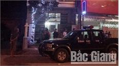 Can ngăn đánh nhau, vợ chồng chủ quán hát ở TP Bắc Giang bị chém trọng thương