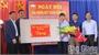 Đồng chí Tống Ngọc Bắc, Trưởng Ban Nội chính Tỉnh ủy dự Ngày hội Đại đoàn kết tại xã Bắc Lý